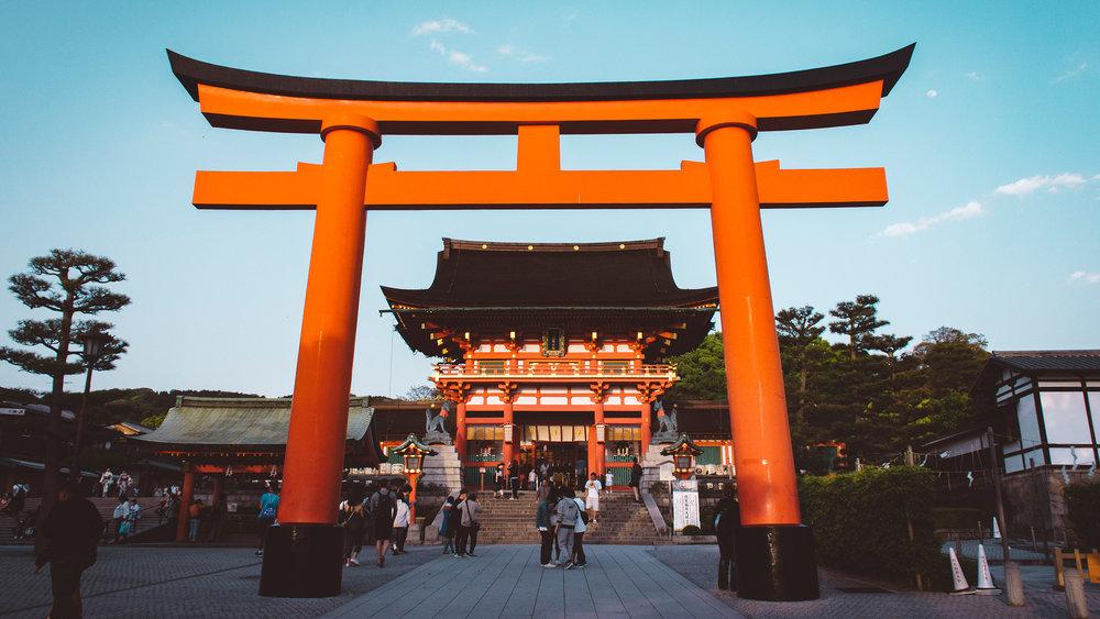 Fushimi Inari. Kyoto.