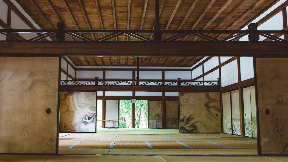 Ryoan-ji. Kyoto.