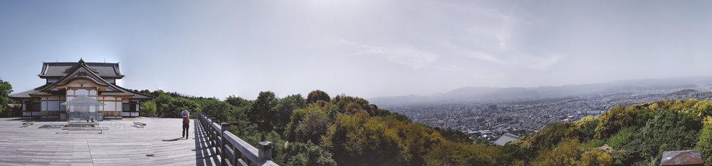 Seiryuden Temple. Kyoto. It offers breathtaking views, far better than Kiyomizudera.