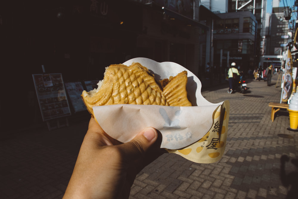 German potato taiyaki