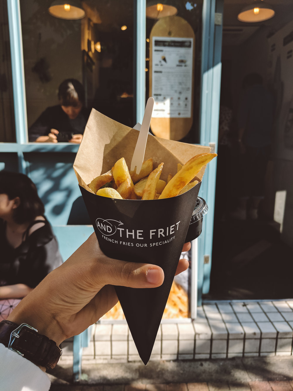 Japanese Belgian fries
