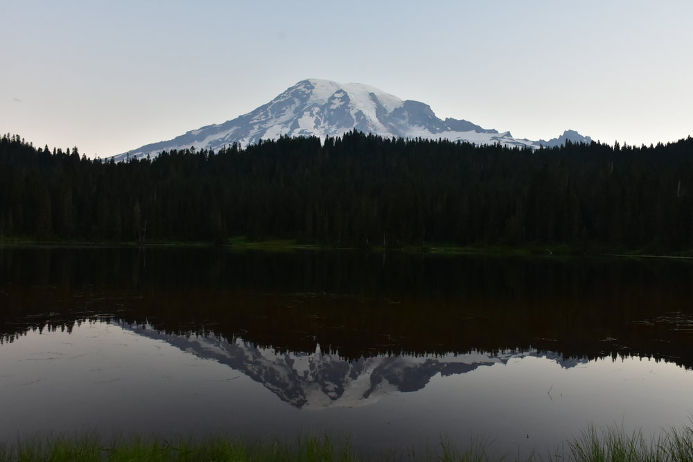 View from Reflection Lake