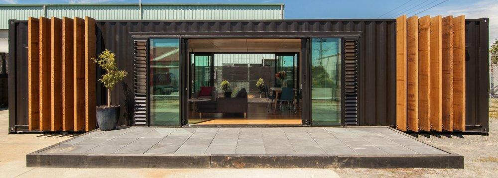 Double 40 ft Container Home & Double 40 ft Container Home \u2014 Complete Architecture