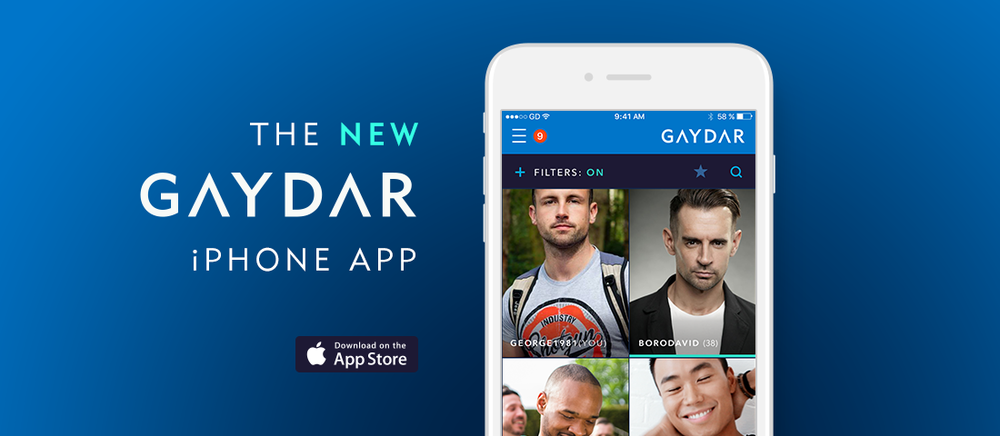New Gaydar iOS App