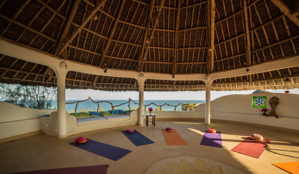 Yoga Shala at Treehouse Watamu