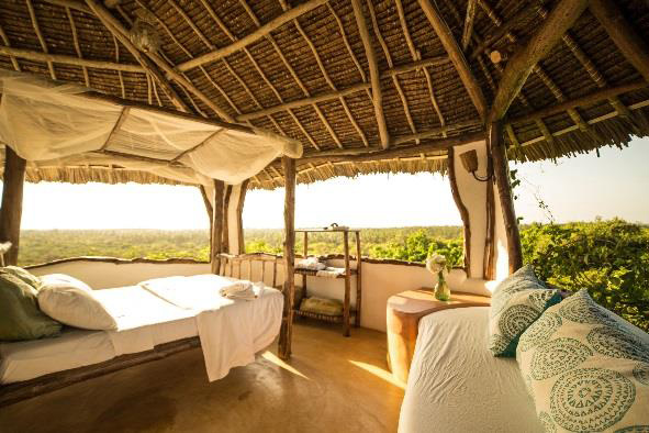 Bedroom at Treehouse, Watamu
