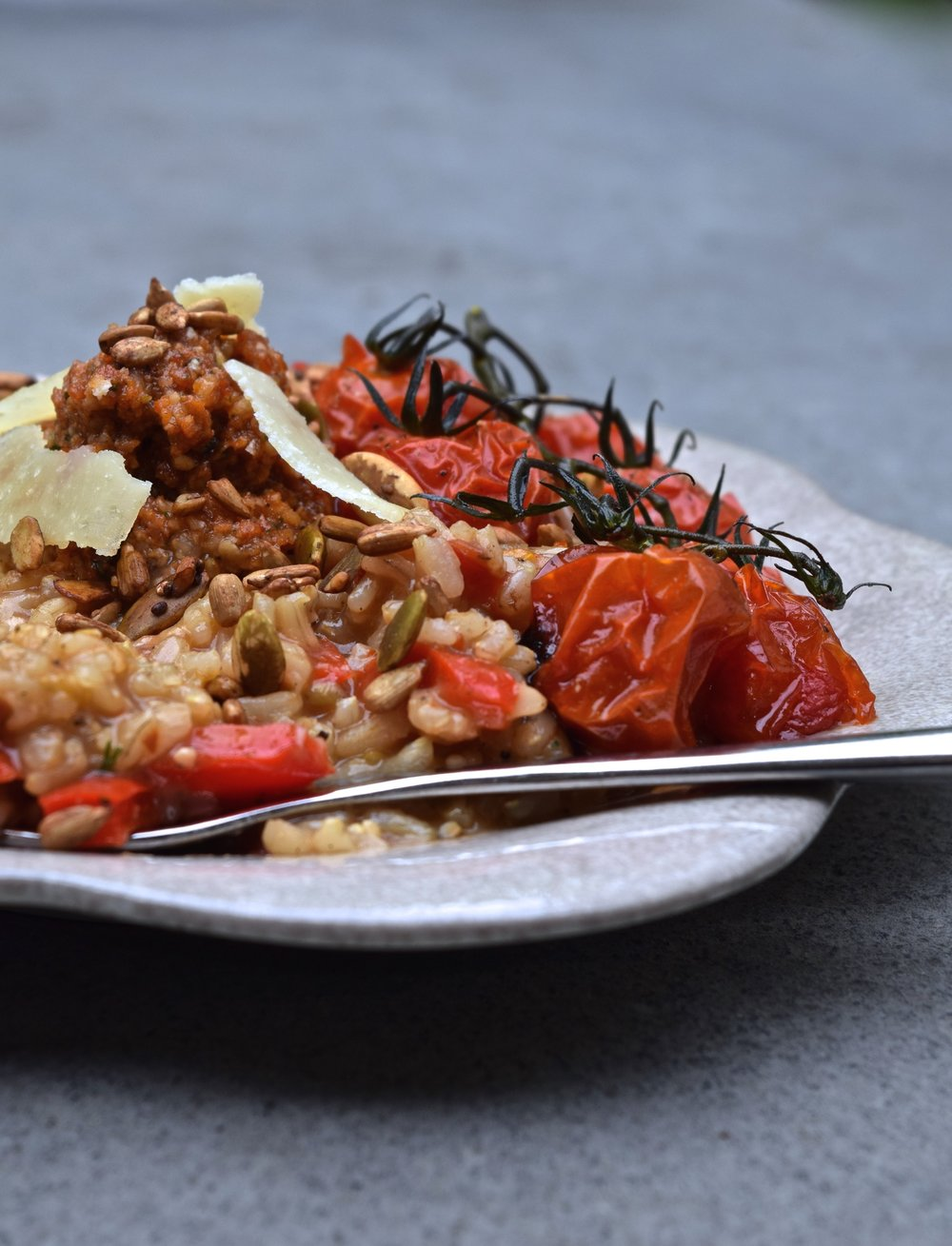 Brown+Rice+Risotto+with+Sundried+Tomato+Pesto+|+The+Herb+Diaries.jpg