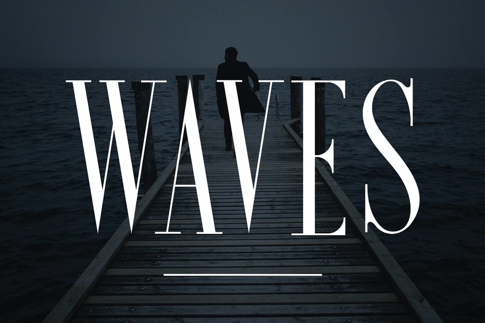 Waves  - Clean Serif -  $15