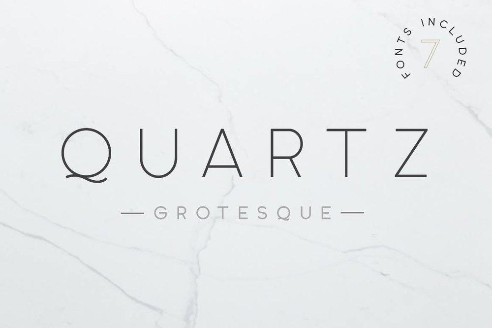 Quartz Grotesque - Sans-serif - $15