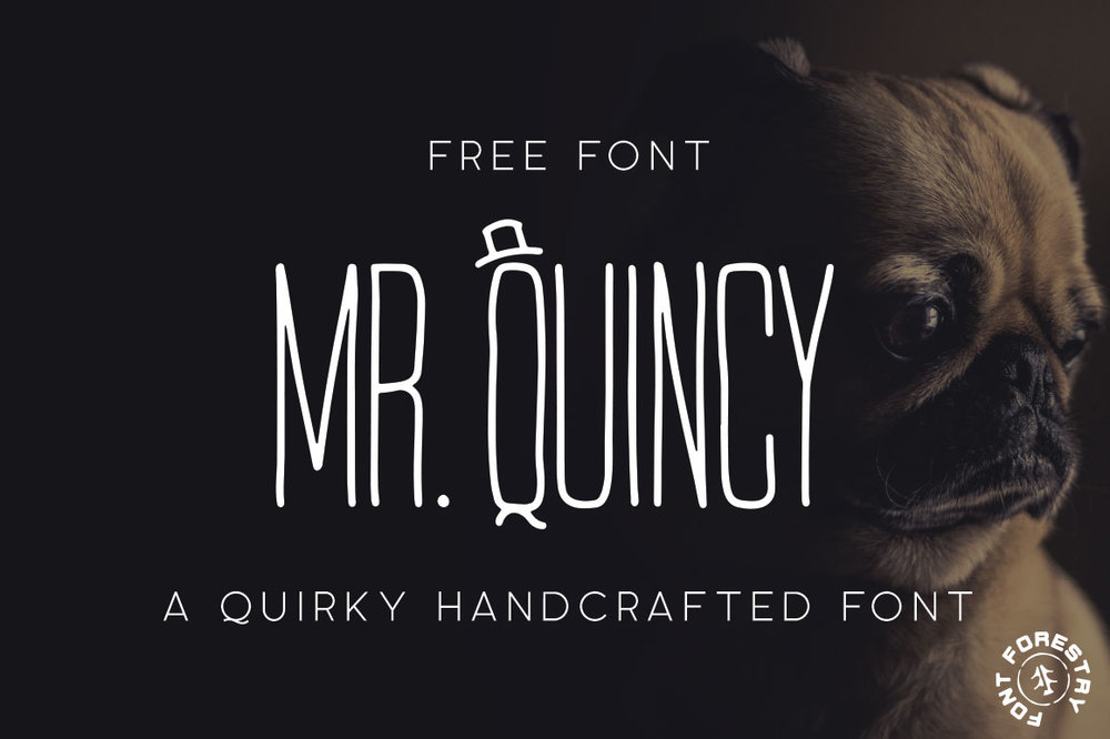 Mr. Quincy - Free Font