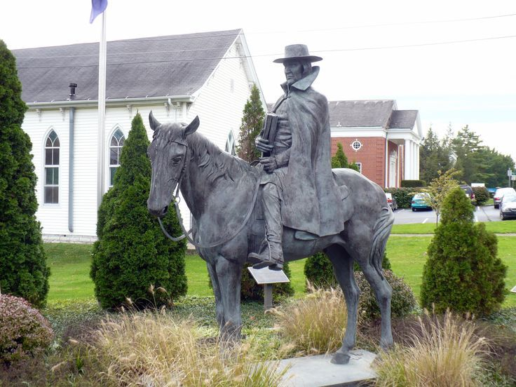 Francis Asbury statue, Wilmore Kentucky
