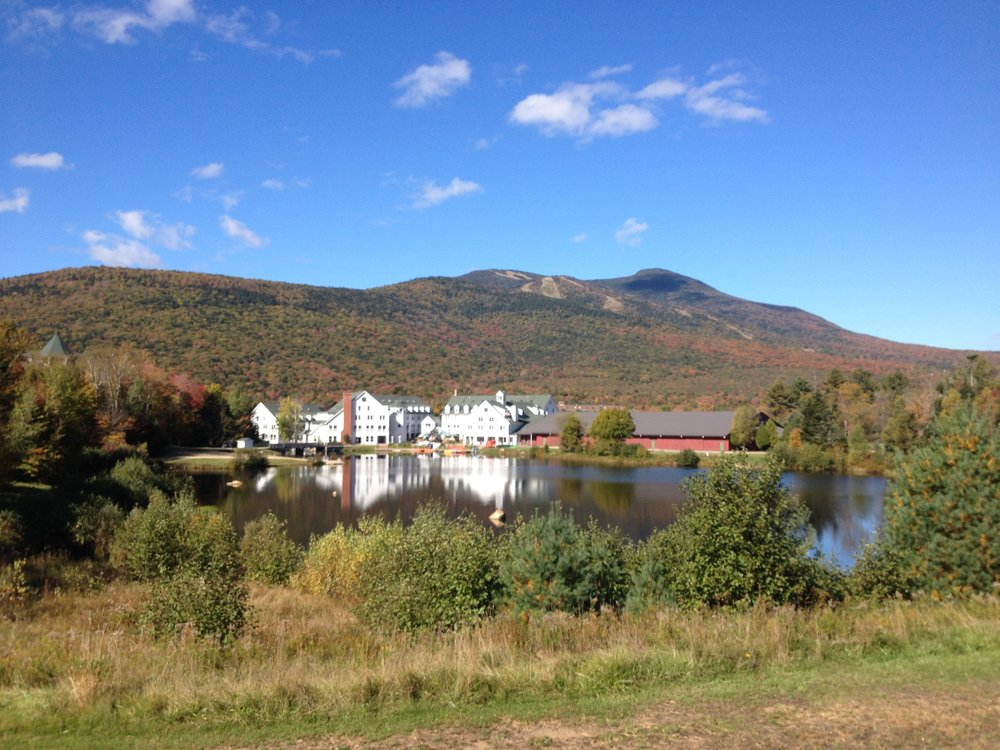 Fall fun in Waterville Valley, NH