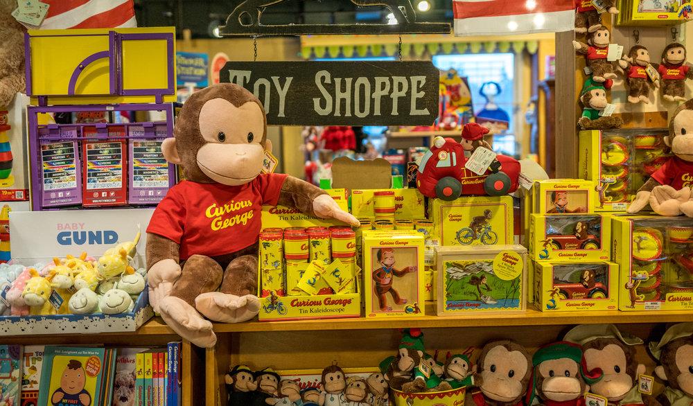 curios george center hay book shop