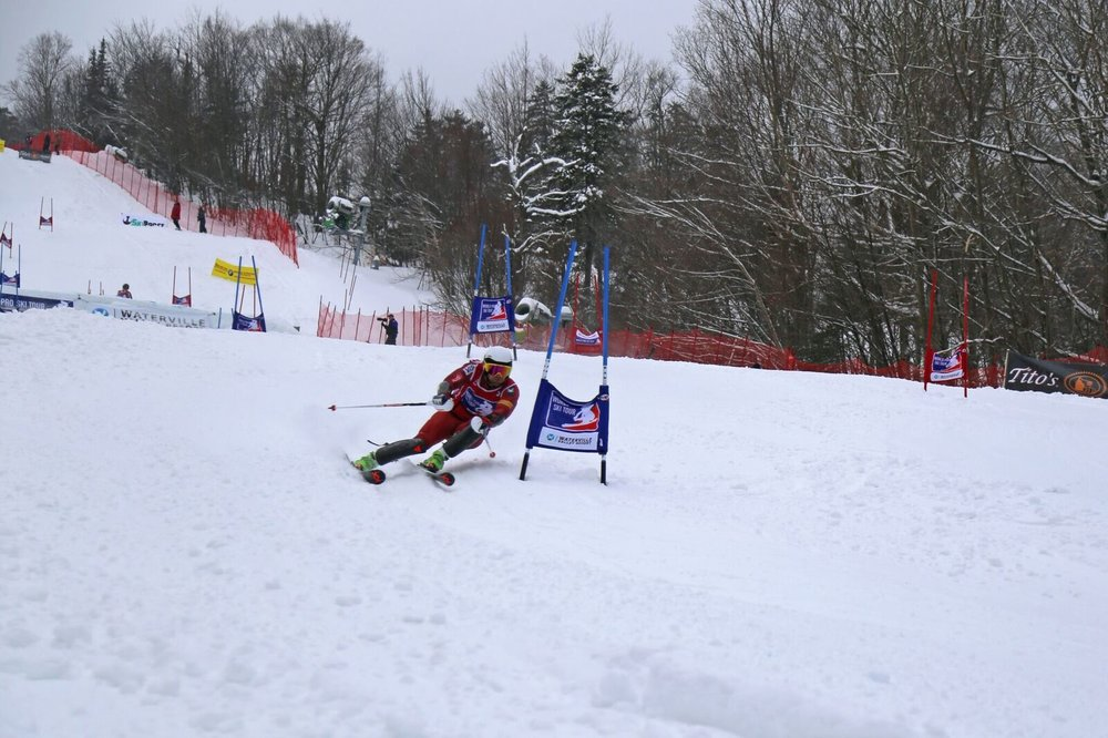 Dubbed the White Mountain Dual Challenge, the race was the first stop of the World Pro Ski Tour featuring 32 ski racers from around the U.S., Canada, Finland, Sweden, and France. Next stop for the tour is Aspen, Colorado, March 9 and 10, followed by the final race of the series at Sunday River, Maine, March 30 and 31.