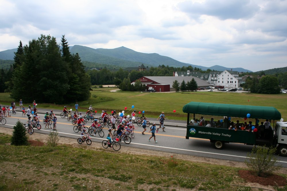 Waterville Valley has been called the Shangri-La of New England mountain resorts,