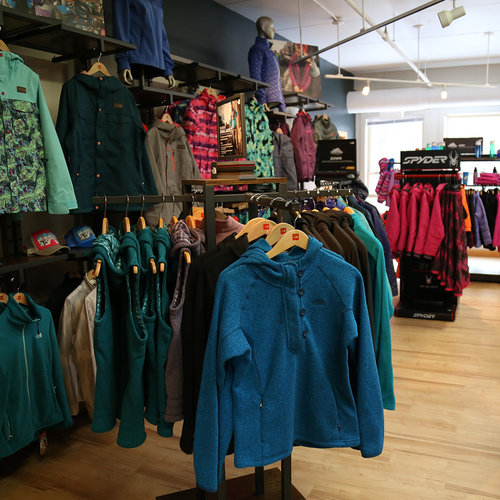 Sport Thoma, at its 1829 Outfitters location in Waterville Valley's Town Square, has everything you need for outdoor adventures