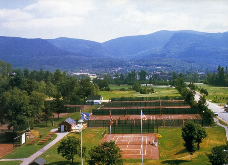 Since 1884, Waterville Valley has been the tennis destination in the White Mountains of New Hampshire, entertaining thousands of tennis players through the years.