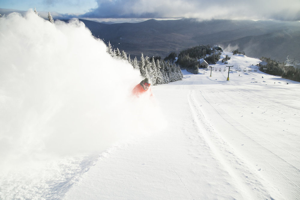 This summer the WVR crew has been busy laying down 33,000 feet of new snowmaking pipe and installing our new high efficiency tower and fan guns that were specially designed to fit all needs here at Waterville Valley through a partnership with the France based MND Group.