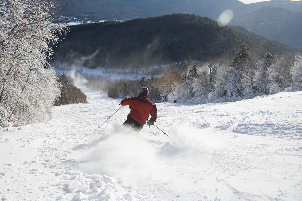 Come celebrate the new year with a lodging package including FREE Skiing at Waterville Valley Resort.