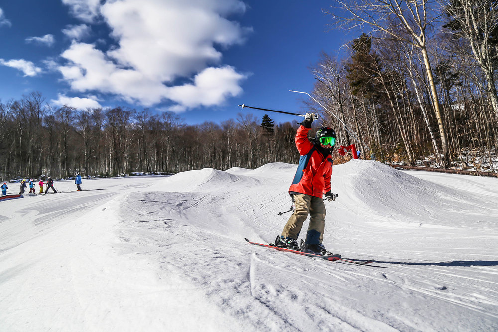 Deal  iIncludes midweek lodging and lift tickets (*one free junior or teen ticket per paid adult ticket, per night of stay) as well as 30% discount voucher valid on group lessons, Kids Venture Kamps, Childcare and rentals. Package includes the Freedom Pass