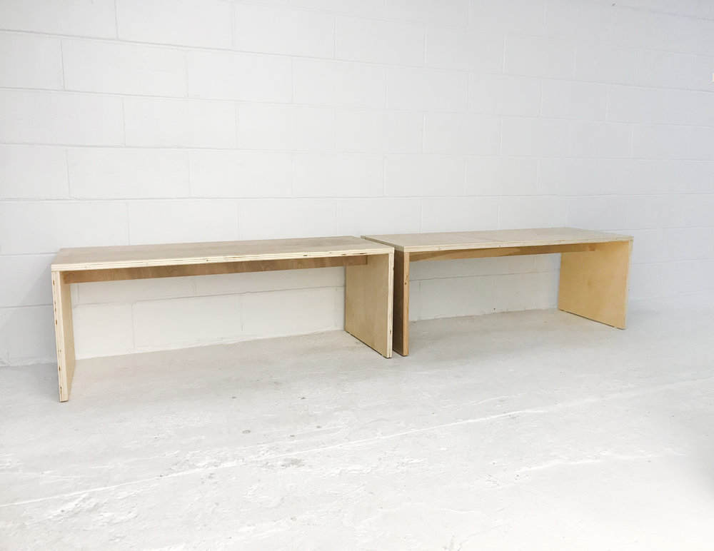 M23/Project Room entry, benches