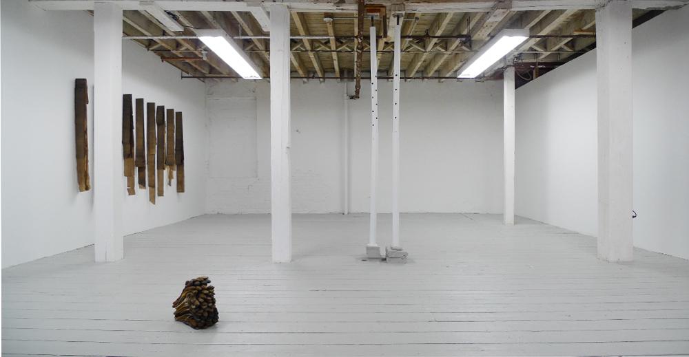 Brian Dario, Liza Lacroix, Vladislav Markov installation view