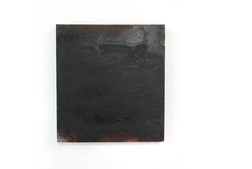 Liza Lacroix  Untitled , 2018 oil on canvas 12 x 12 inches (31 x 31 cm) (LL2)