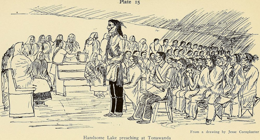 Handsome Lake - The leader of the first American recovery movement
