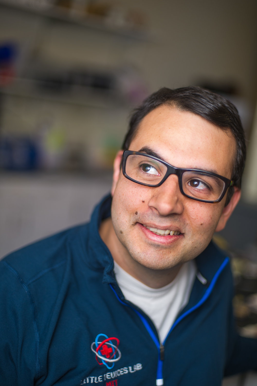 Jose Gomez-Marquez, Director of the Little Devices Lab and the creator of MIT's first course on affordable medical device hardware.