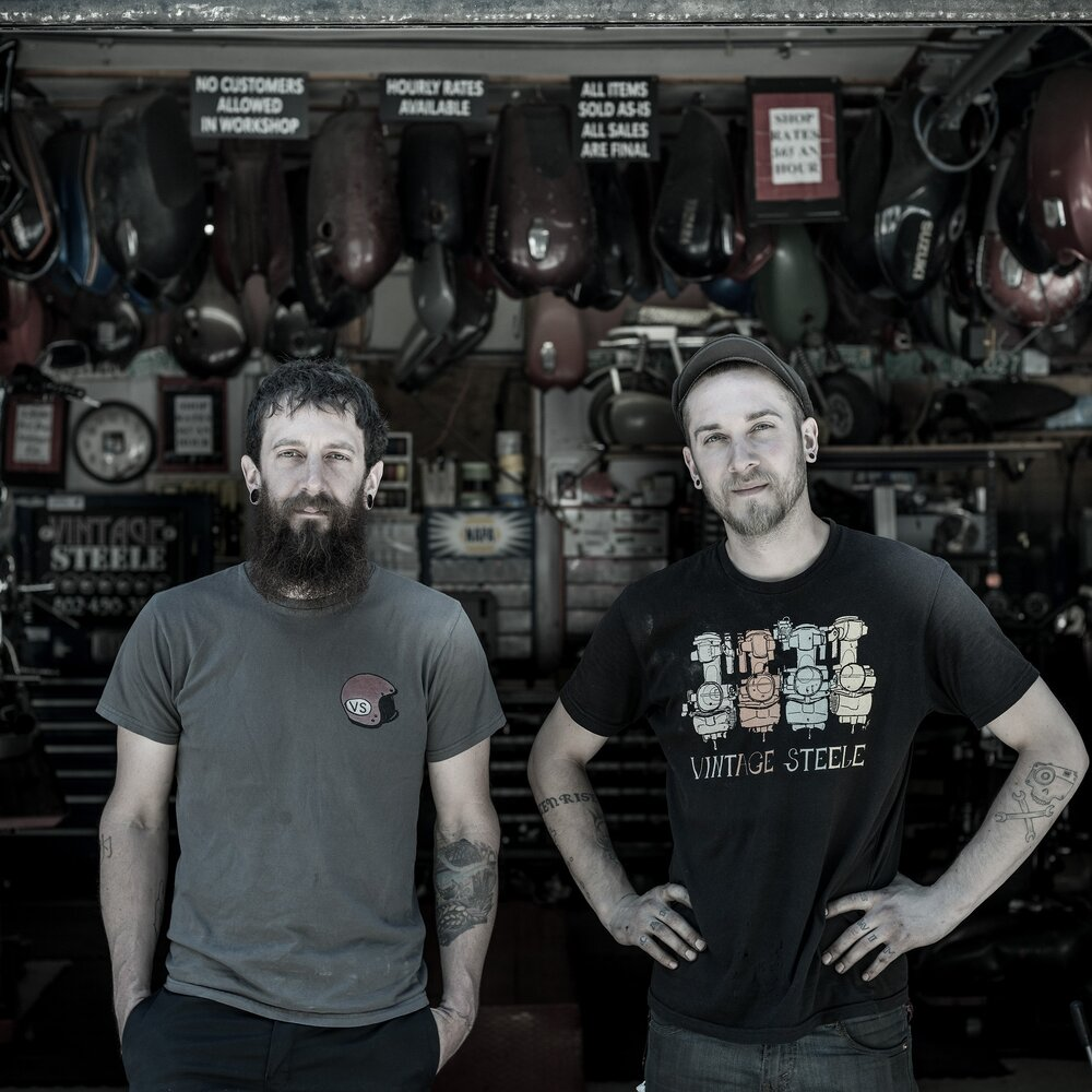 Josh Steele and Chris John