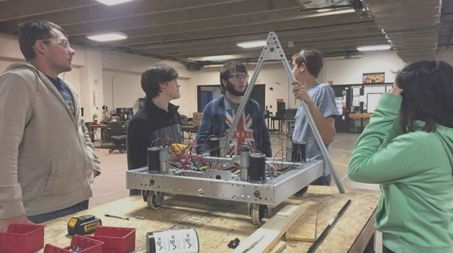 Build Season - It's all starts with Students working together and ends with a Robot being fully built and ready.Check out the Blogs to see