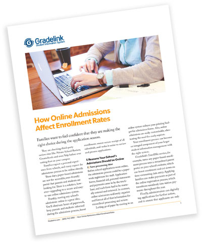 How Online Admissions Affect Enrollment Rates Whitepaper