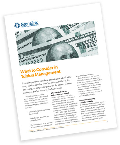 What to Consider in Tuition Management Whitepaper
