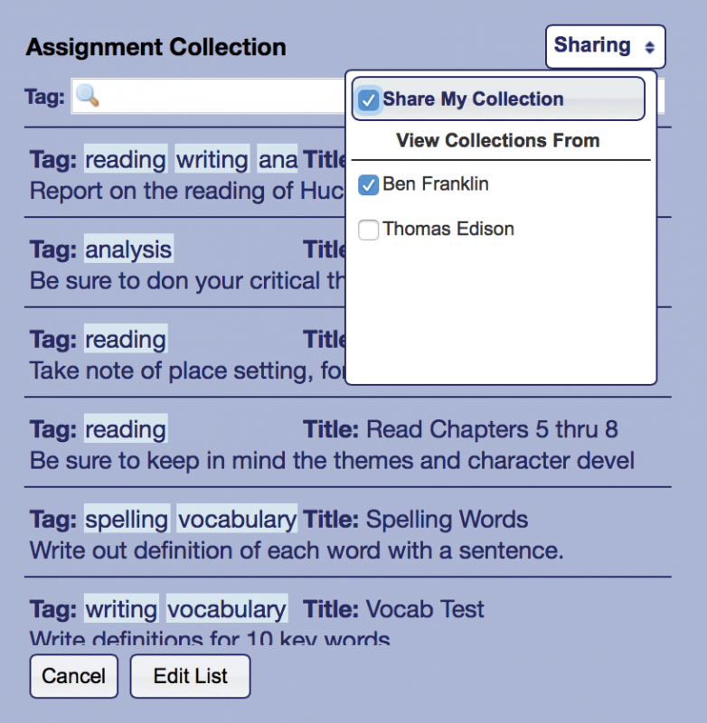 Assignment Collections