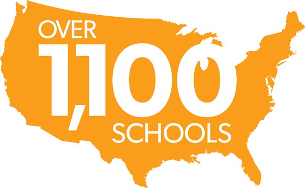 Over 1000 Schools Nationwide