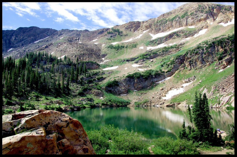 and in the afternoon...hike here! - Just look at that GORGEOUSNESS!