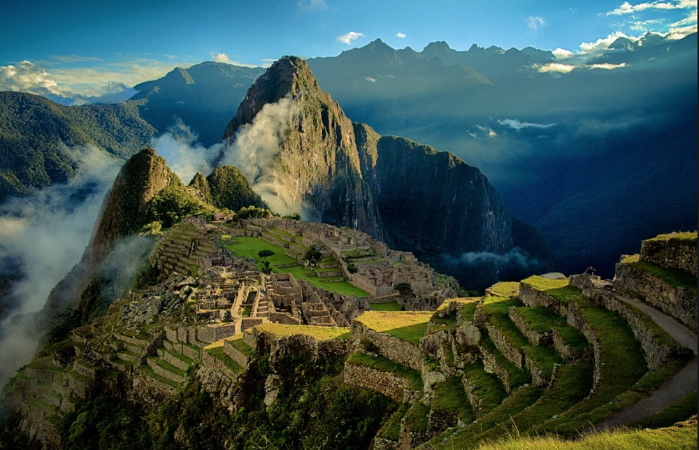 Tip #5:Sing from the Mountaintops. - Just imagine.... you've reached the mountain top. It's the highest point of Machu Picchu. The air is crisp and clear, your lungs are burning, you are completely exhausted and you couldn't be any prouder of yourself.