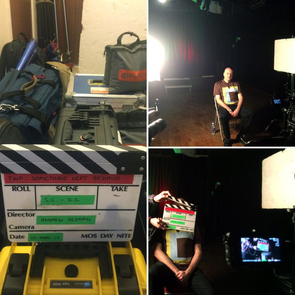 Shaun Charman - Behind the scenes