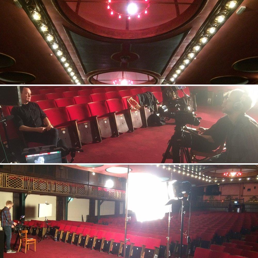 David Gedge - Behind the scenes
