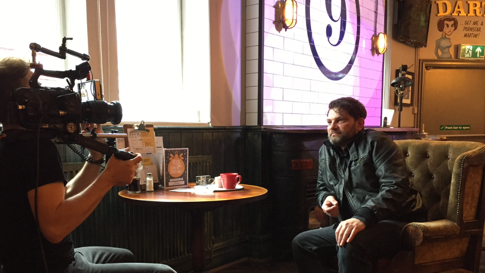 A fan interview in a pub very familiar to the band - The Hyde Park.