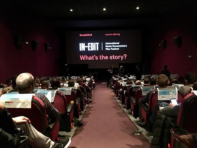 A great screening last night in Barcelona. Thanks so much to @ineditfestival for hosting the film and for the hospitality.