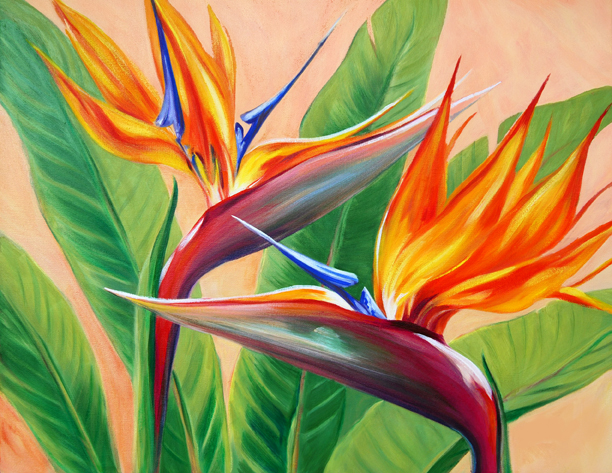 Tropical Flirtation