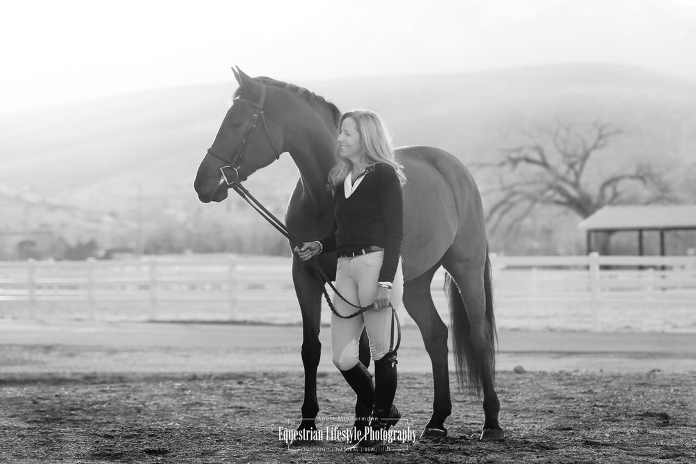 Equine Sunset Photo Shoot with Leslie and Carter