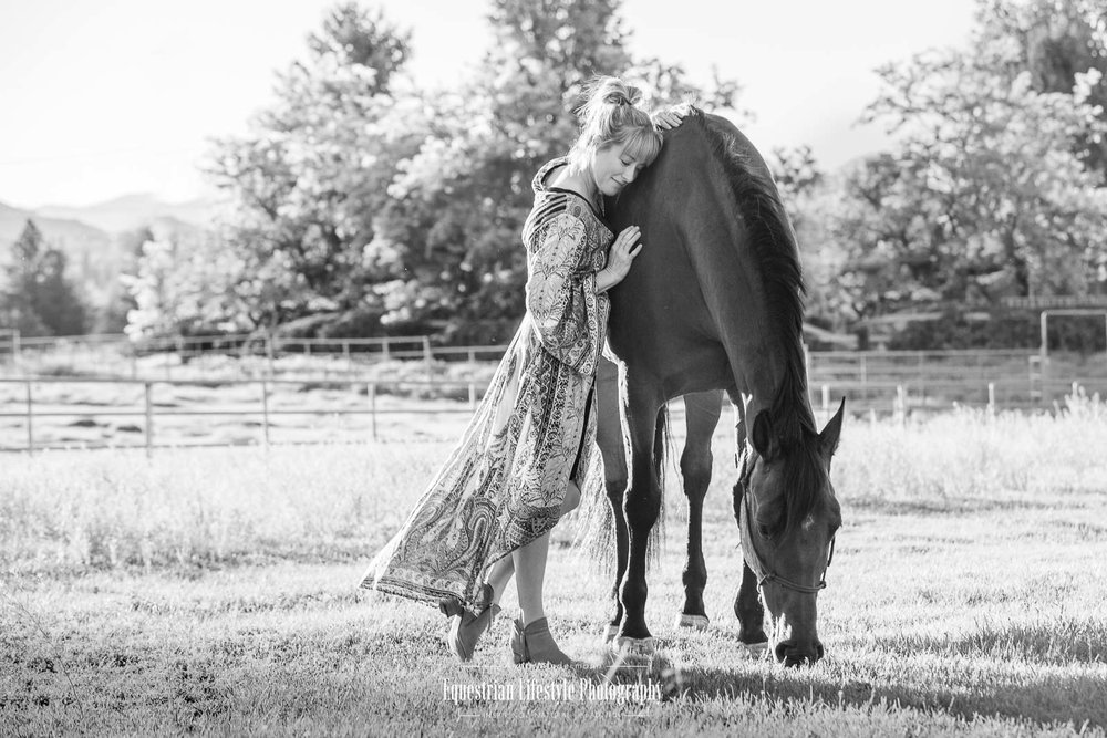 Horse and Girl Photography