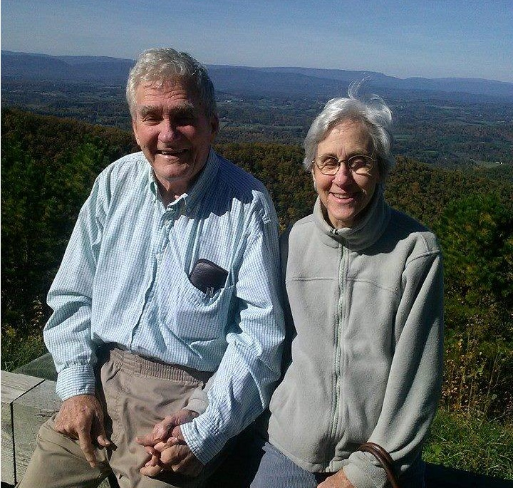 senior couple - blue ridge mountains - senior home care roanoke va