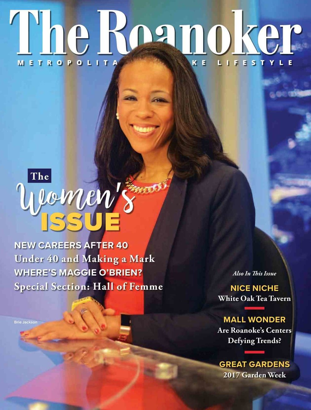 roanoke magazine cover april 2017 - companion home care of roanoke va