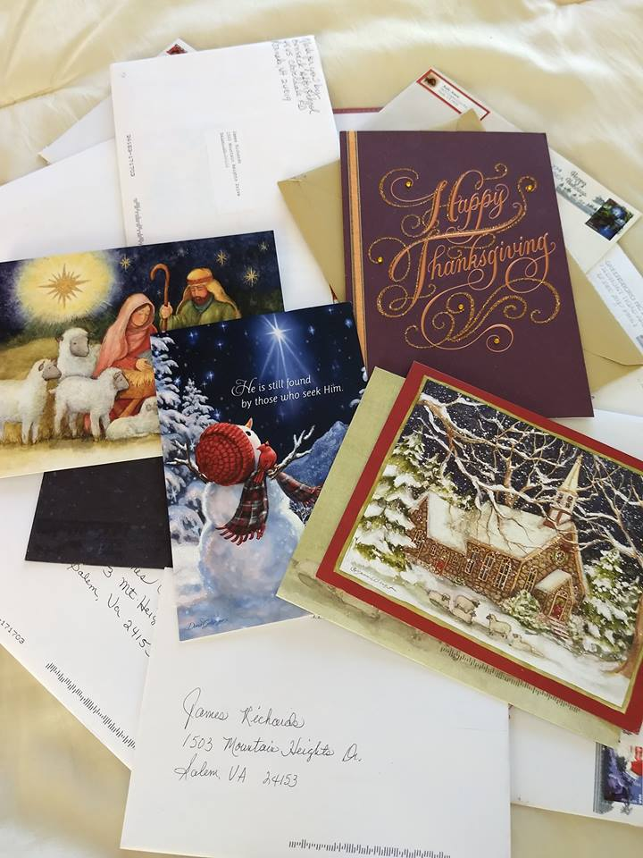 Christmas cards a welcome treat for home care clients with christmas greeting cards companion home care inc roanoke vag m4hsunfo
