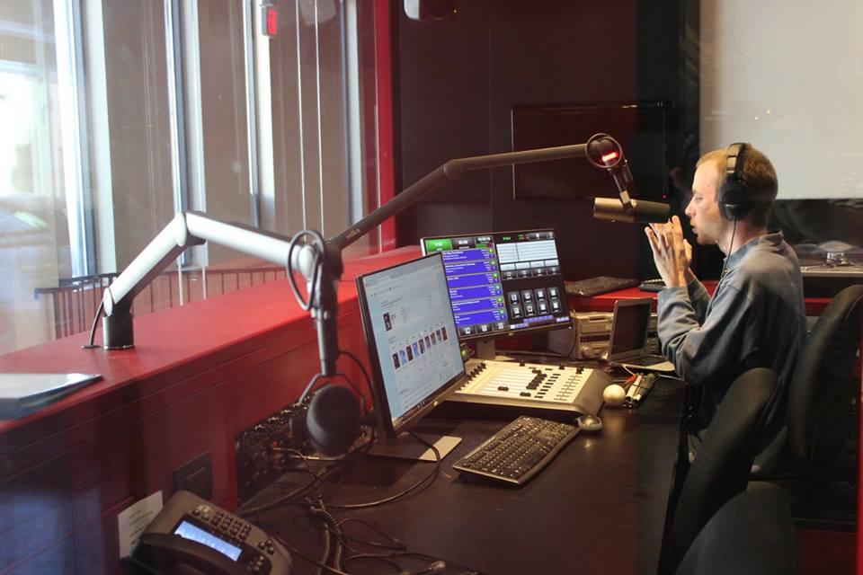 """Brandon Charles, host of the """"Breaking Boundaries"""" radio show on WERA 96.7"""