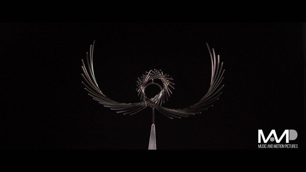 Kinetic Metal Sculpture Shoot 1
