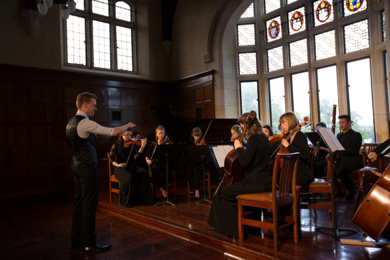 22/09/2013: First Chamber Orchestra Concert   St George's College hosts its first small-scale orchestral concert,  Appalachian Spring , in conjunction with the Swan Philharmonic Chamber Orchestra.